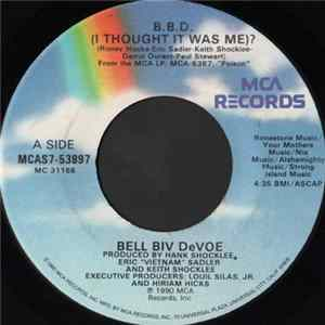 Bell Biv Devoe - B.B.D. (I Thought It Was Me)? Album