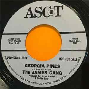 The James Gang - Georgia Pines / Baby Take Me Back Album
