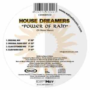 House Dreamers - Power Of Rain Album