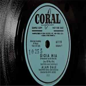 Alan Dale - Gioia Mia / Honey, Honey, Honey Album