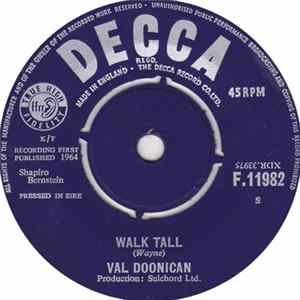 Val Doonican - Walk Tall Album