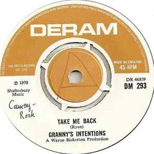 Granny's Intentions - Take Me Back Album